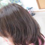 カラーして一週間!パーマ掛けました。