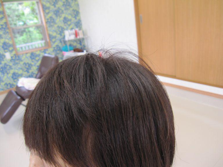 明るく染まるおしゃれ染めの様な白髪染め!