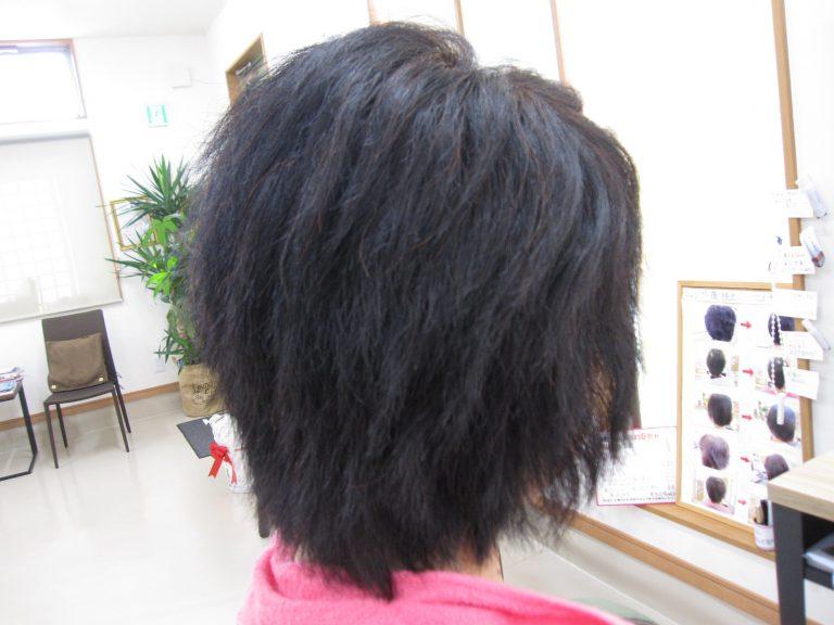 多毛と縮毛矯正とスキばさみで悩まれて!