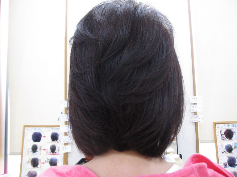 髪の毛が多いね~と言われるようになって・・・