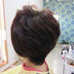 縮毛矯正とご自分の髪の違い。自然な髪が形になりやすい💛