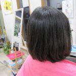 薄毛で、前髪が作れないのが悩み