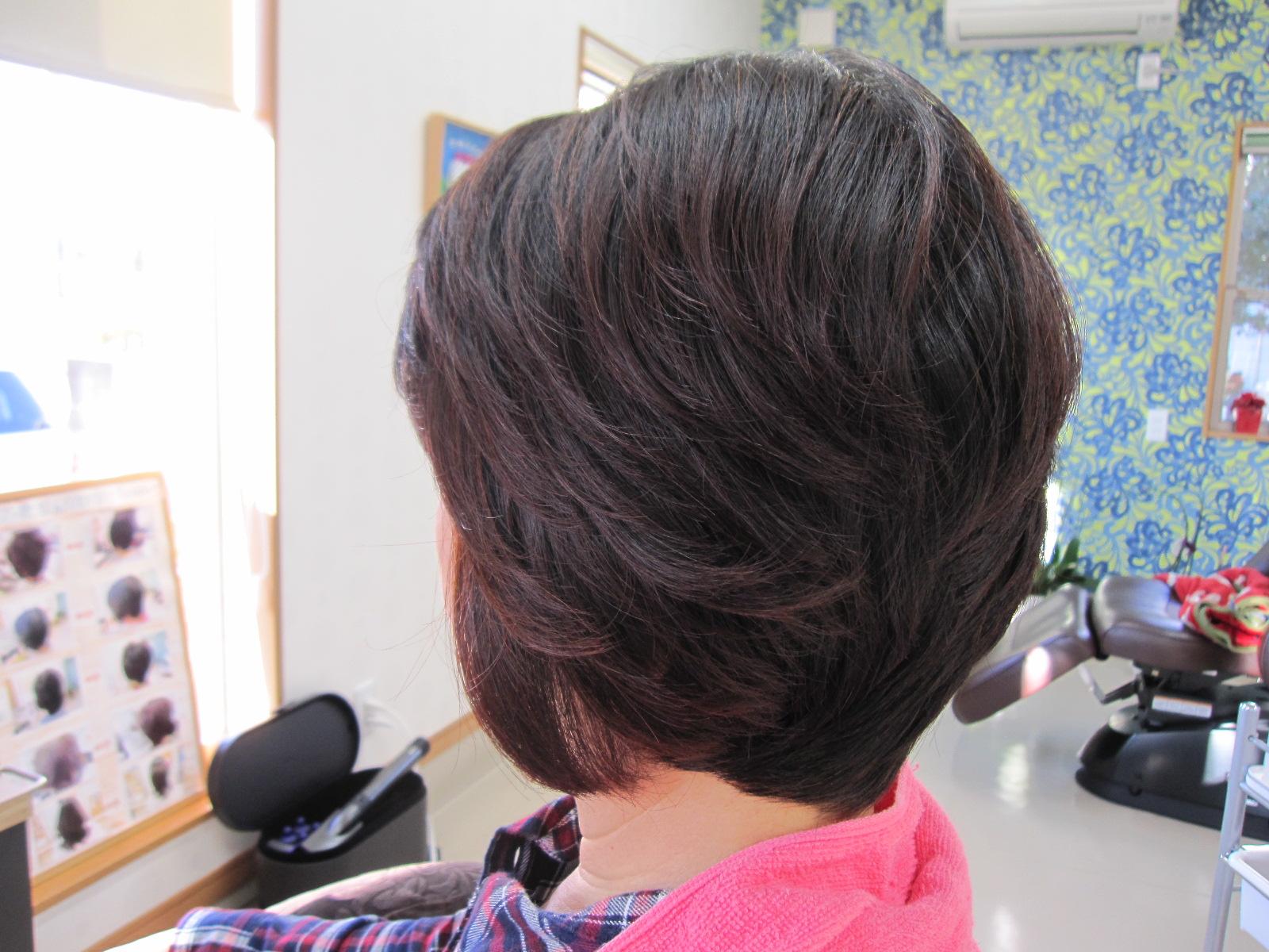 着物を着るために髪を伸ばす❣