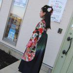 袴の着付けとヘアースタイル❣