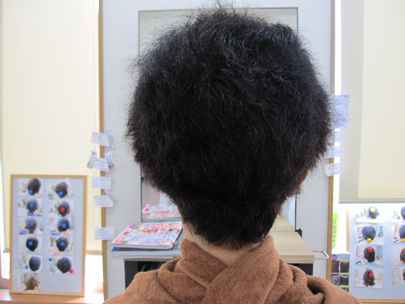 くせ毛の結果が、まとまる!