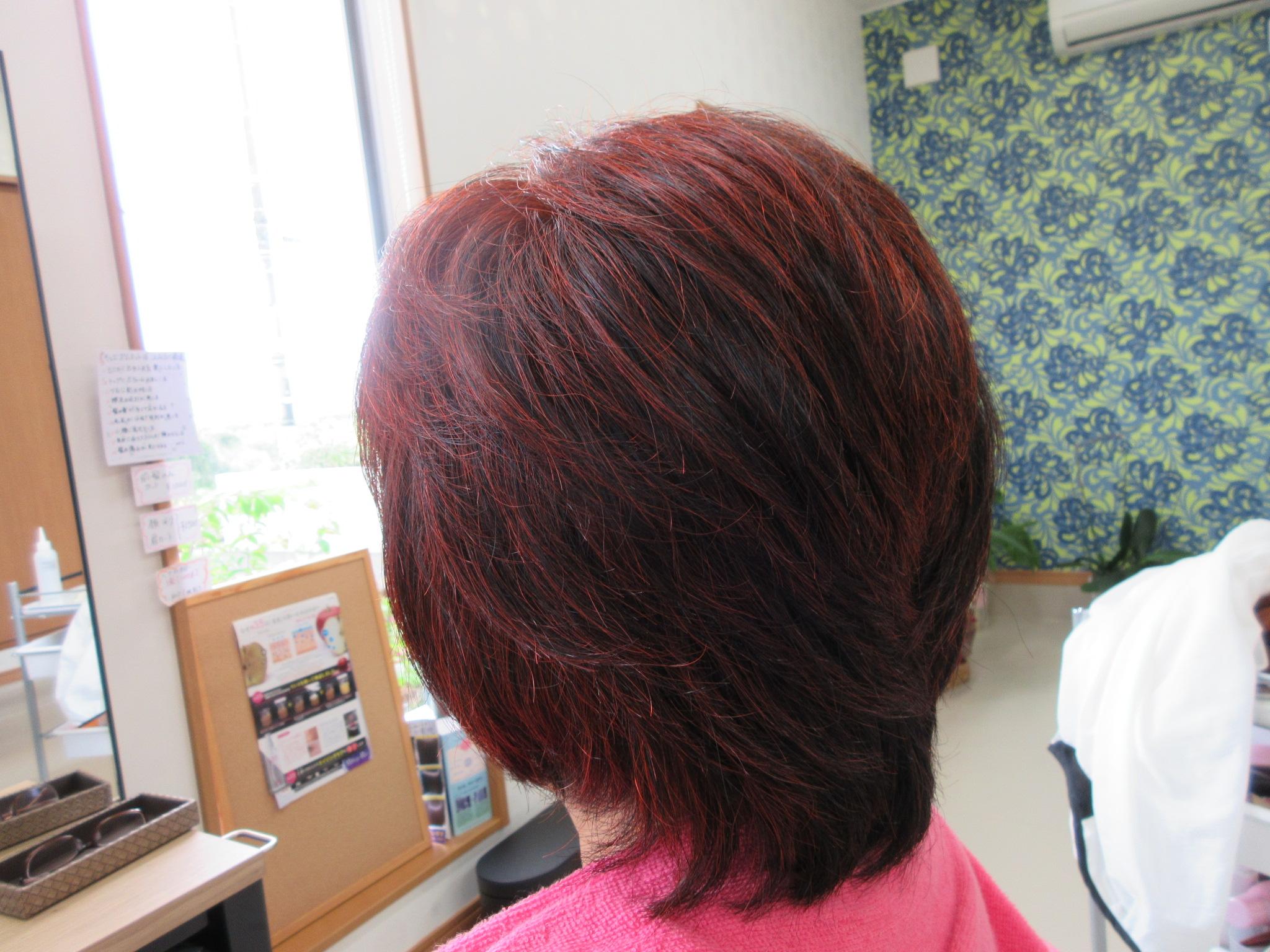 縮毛矯正を止めて、天然ヘナ100%で健康な髪を手に