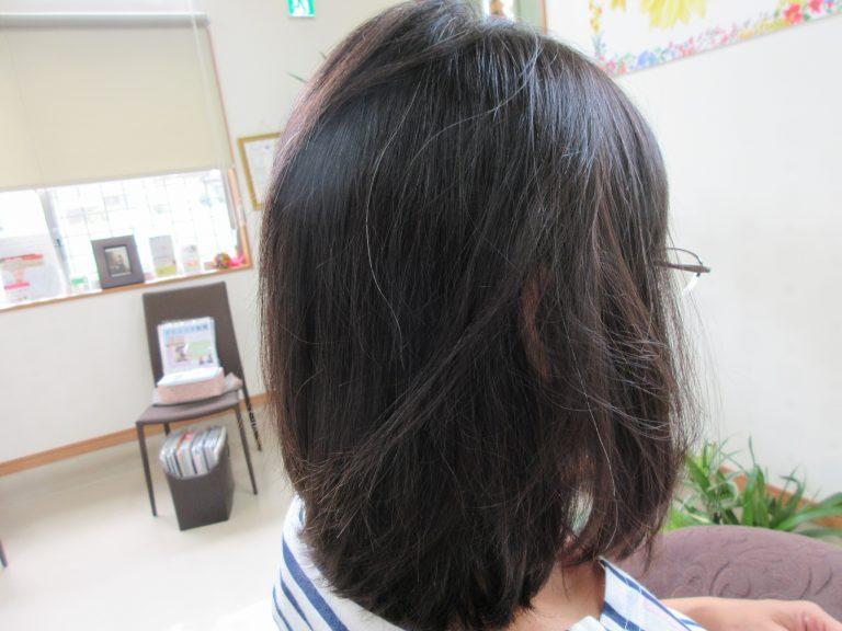 薄毛で前髪造れない!と言われてた
