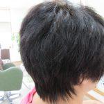 縮毛矯正で悩んで、今はご自分の髪になりました。