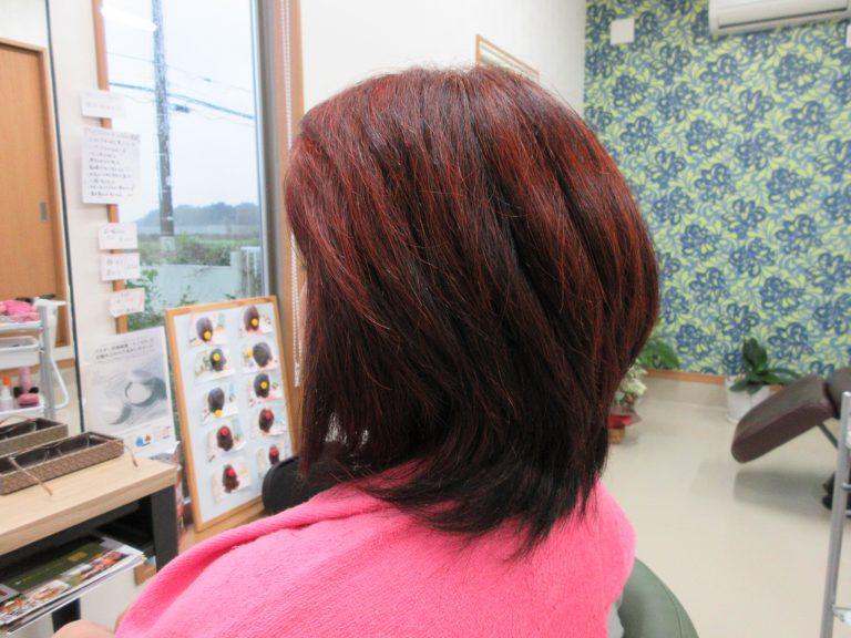 髪質が変わって、若返った~!と喜びです。