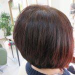 天然ヘナ100%と前髪カット❣