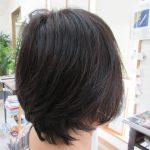 髪が伸びても、形が長持ちする。