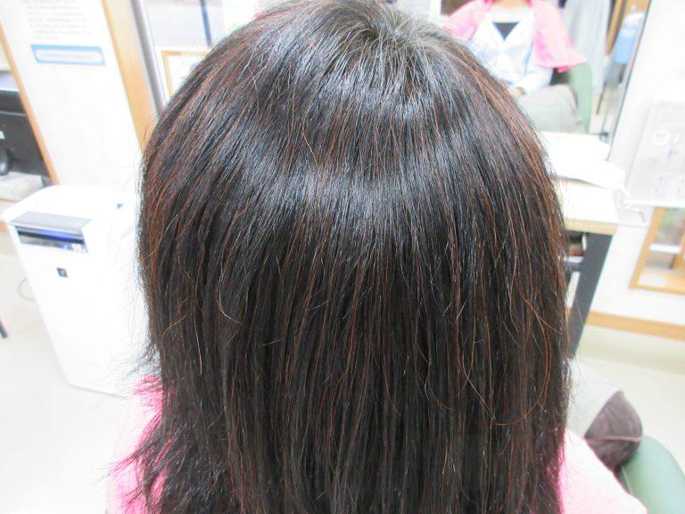 こだわりの美らヘナで髪はツヤツヤ
