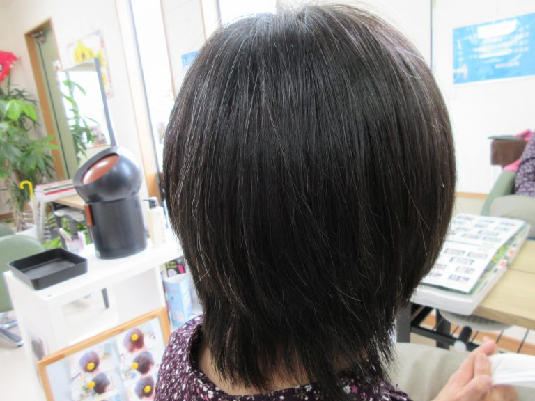 髪の悩みで、心から喜んでくださいました。