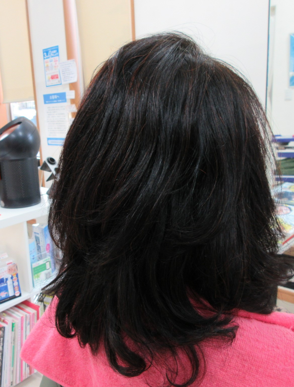 くせ毛でも、パーマを掛けたような素敵な髪です。
